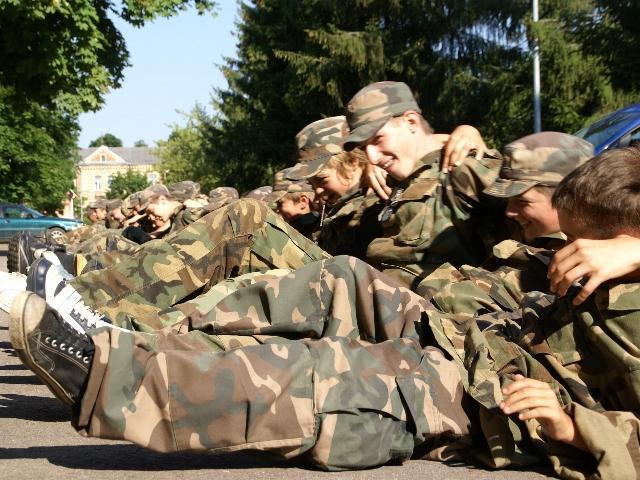 2008.07.14...20 Спортивно-военный лагерь для детей.
