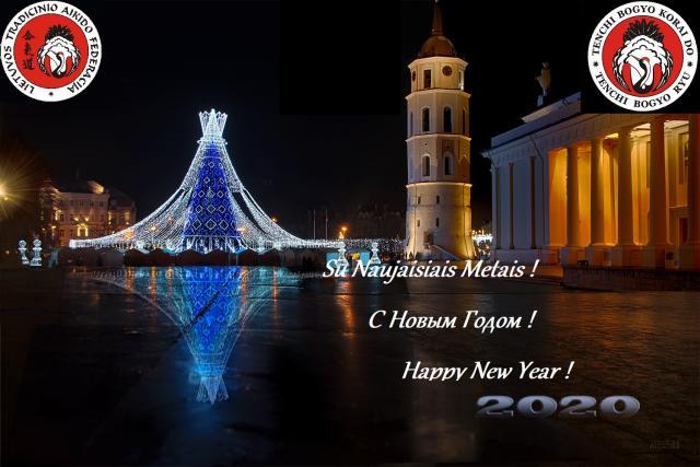 Sveikiname su Šv. Kalėdomis ir Naujaisiais Metais 2020 !!!